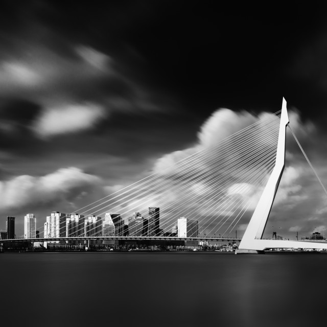 """Rotterdam Erasmus"" stock image"