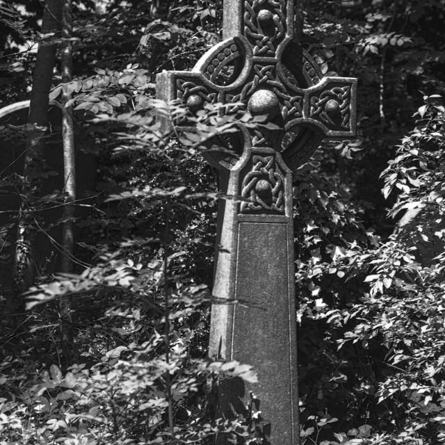 """Celtic Cross"" stock image"