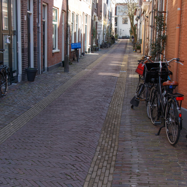 """Dutch street"" stock image"