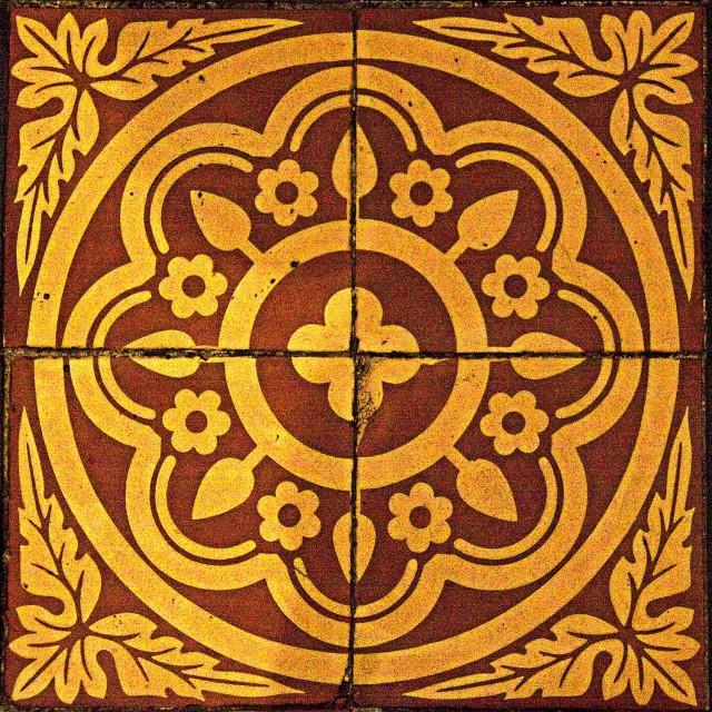 """Floor Tile 1"" stock image"