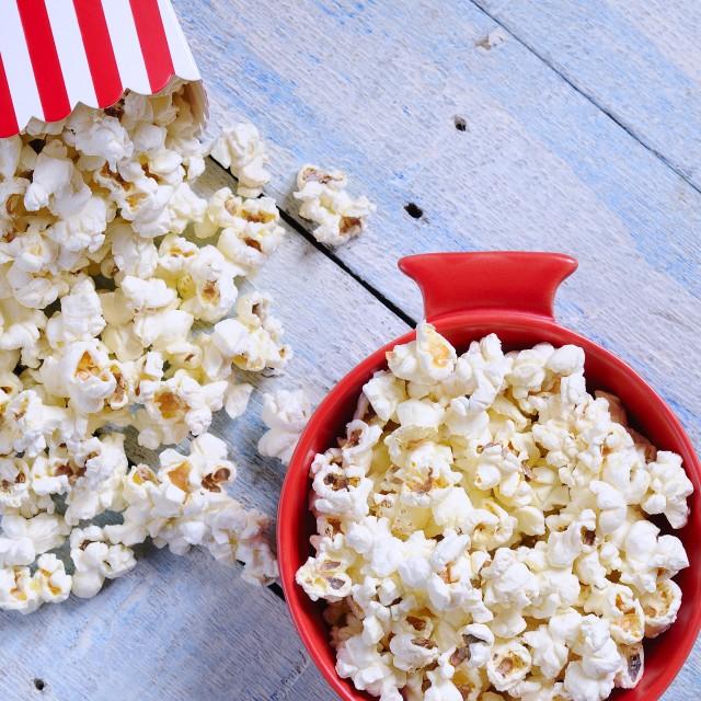 """Popcorn."" stock image"