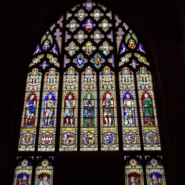 """""""Stained Glass Window"""" stock image"""