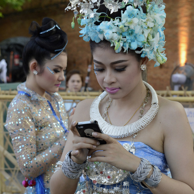 """""""ASIA THAILAND CHIANG MAI TRADITION"""" stock image"""