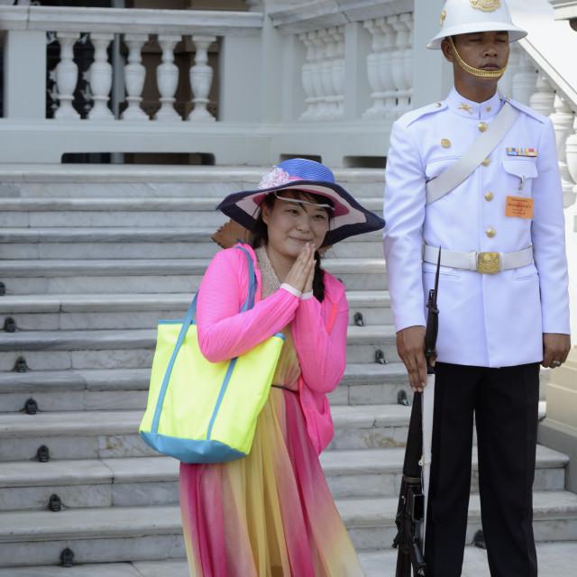 """ASIA THAILAND BANGKOK WAT PHO"" stock image"