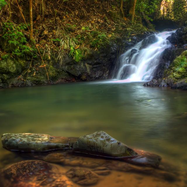 """Inopombo waterfall"" stock image"
