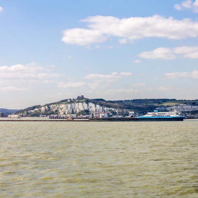 """Dover Ferries"" stock image"