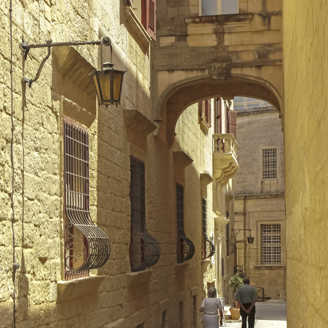 """Malta Mdina"" stock image"