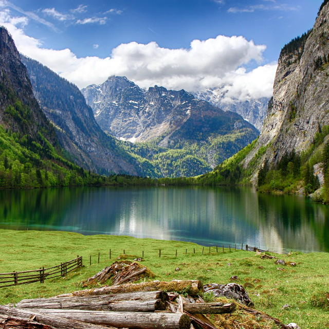 """Obersee"" stock image"