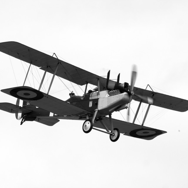 """Royal Aircraft Factory RE8"" stock image"