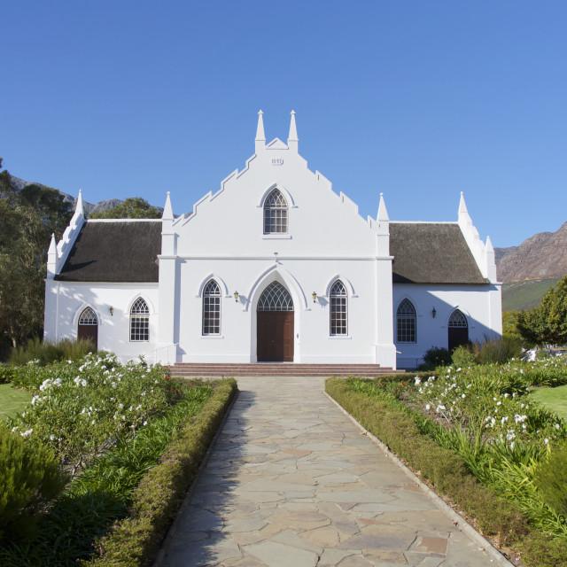 """Franschhoek, Cape Town"" stock image"