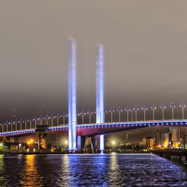 """Bolte Bridge Melbourne"" stock image"