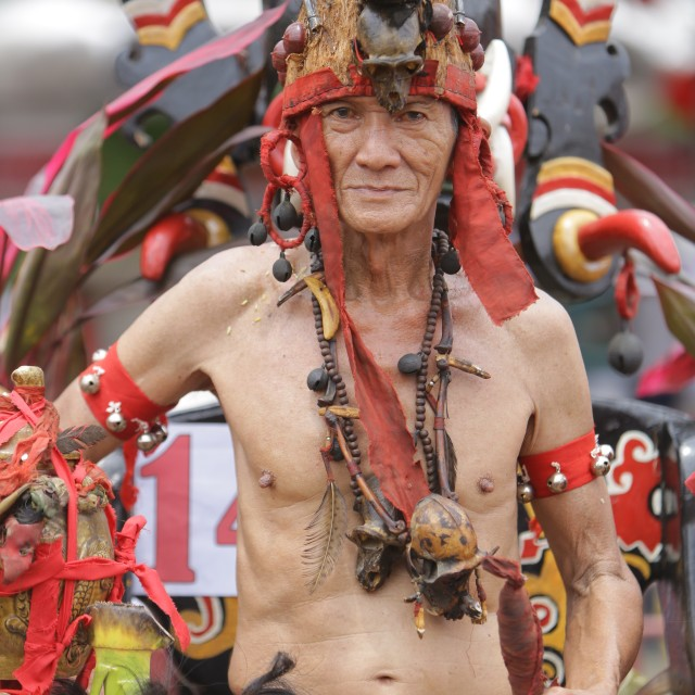 """""""Elders Indigenous Dayak"""" stock image"""