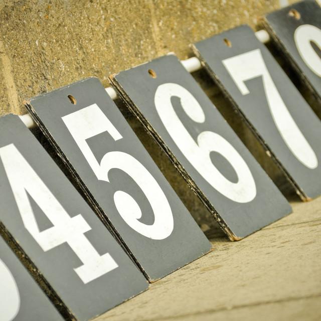 """scoreboard numbers"" stock image"