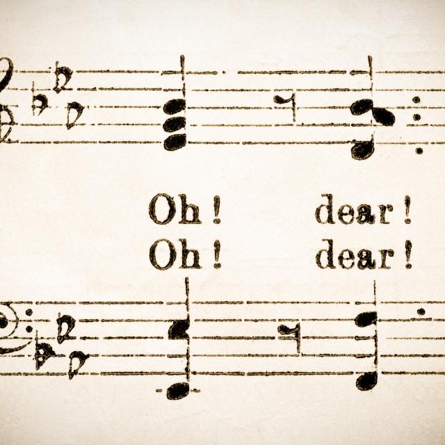 """""""sheet music"""" stock image"""