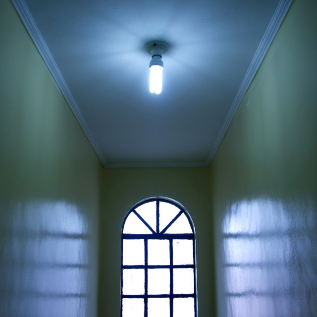 """window in a hallway"" stock image"
