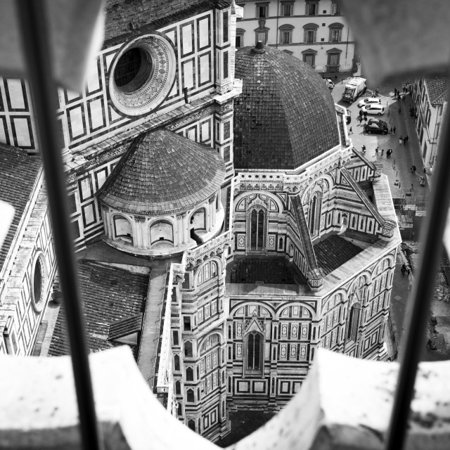 """Florence Duomo from the Campanile"" stock image"