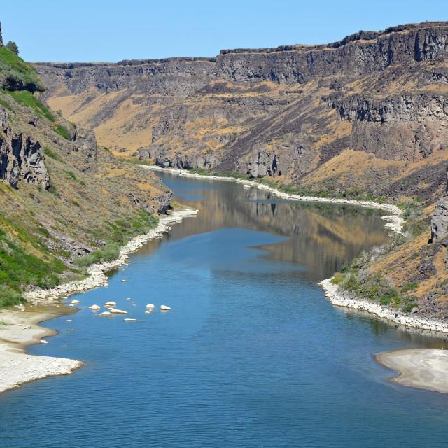 """Snake River in Idaho"" stock image"