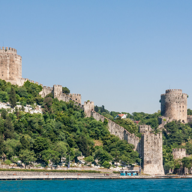 """Rumeli Hisari, the European Fortress"" stock image"