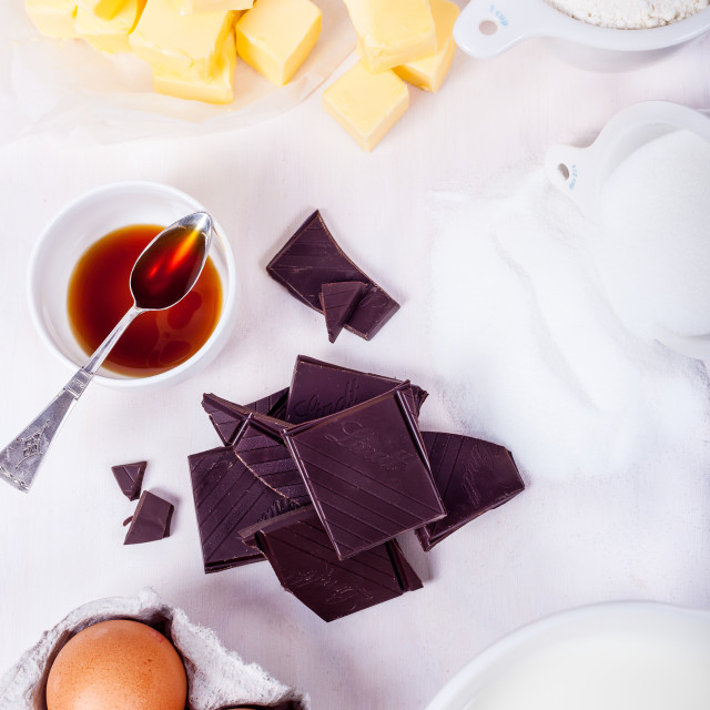 """Cake Ingredients"" stock image"