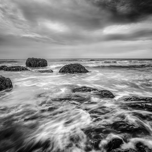 """Incoming Tide At The Naze"" stock image"