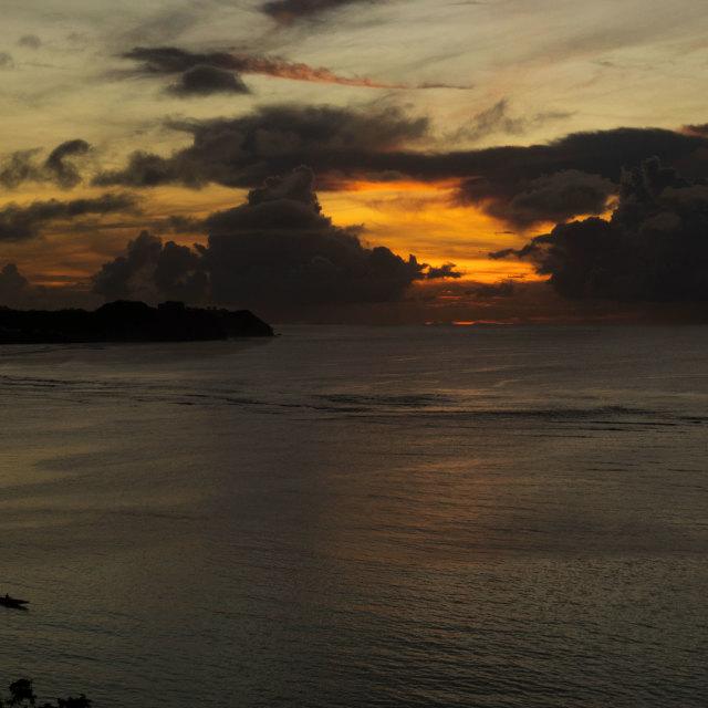 """Tumon Bay, Guam"" stock image"