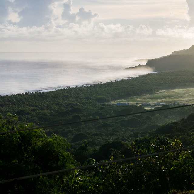"""The Haze of Guam"" stock image"