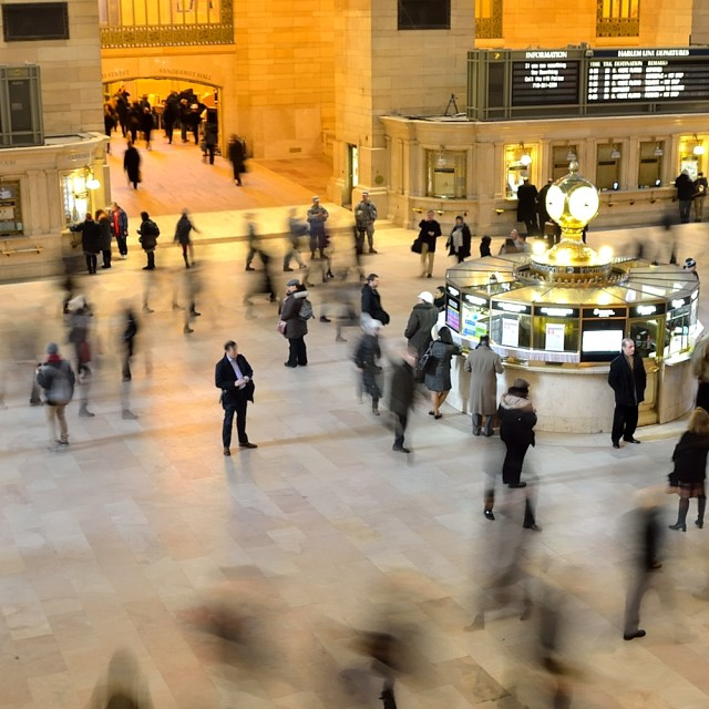 """Grand Central Station New York"" stock image"