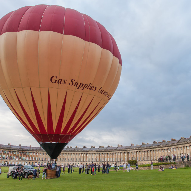 """Royal Crescent Launch"" stock image"