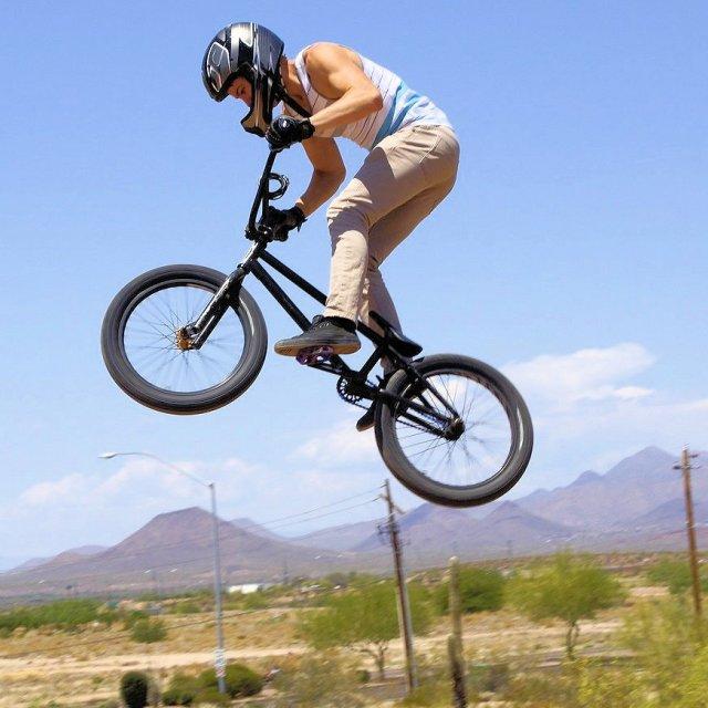"""Riding High"" stock image"