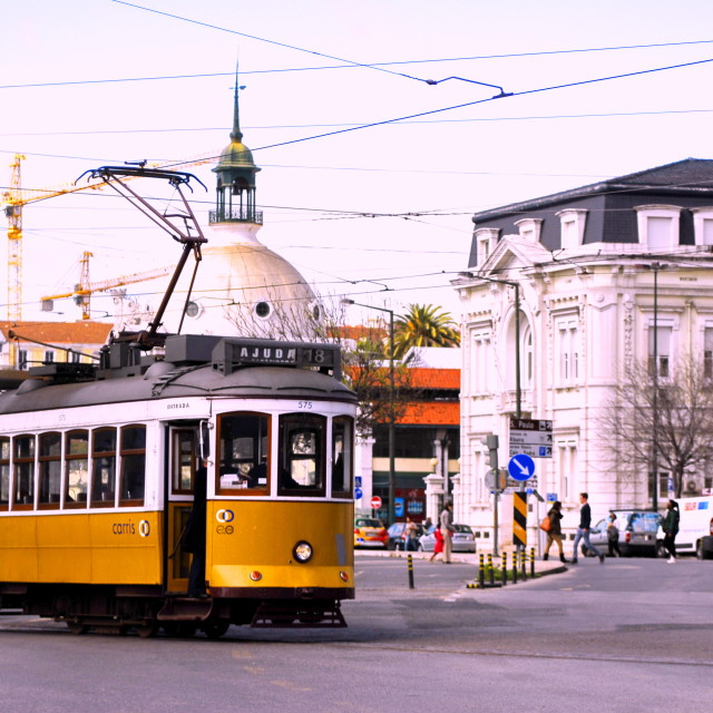 """Historic Tram"" stock image"