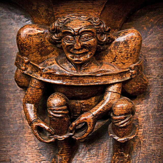 """Misericord 3"" stock image"