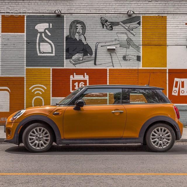 """Orange Mini"" stock image"