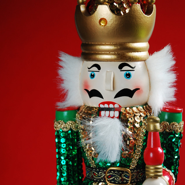 """Christmas nutcracker"" stock image"