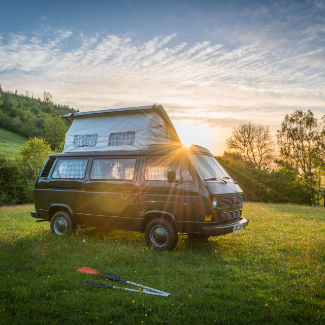 """Campervan"" stock image"