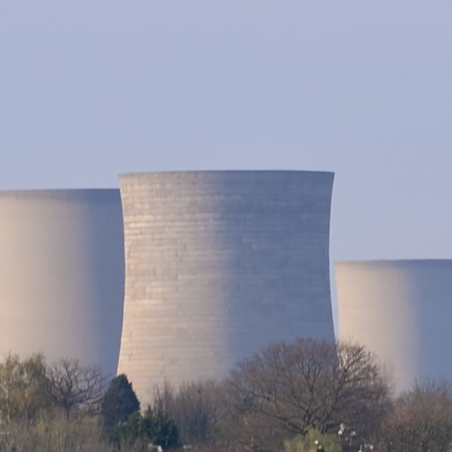 """""""Didcot Cooling Towers"""" stock image"""