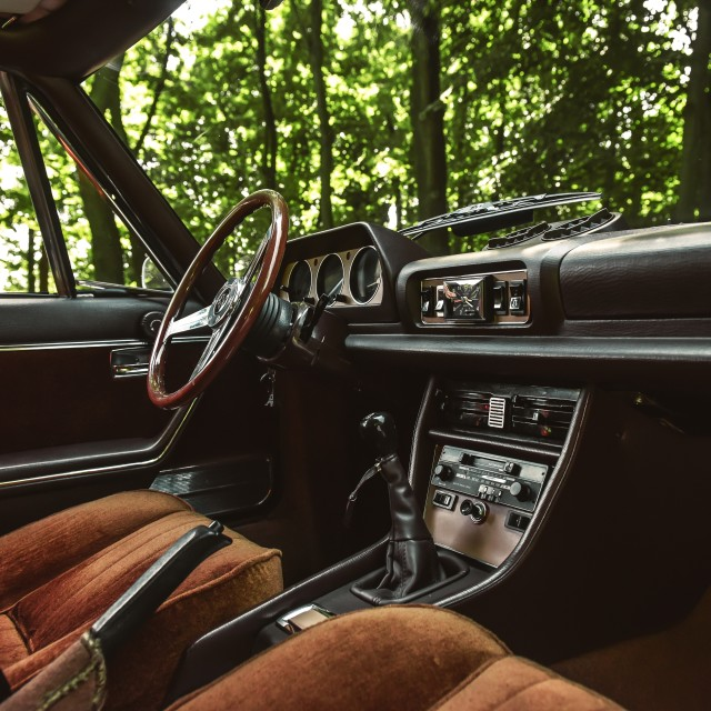 """Car interior"" stock image"