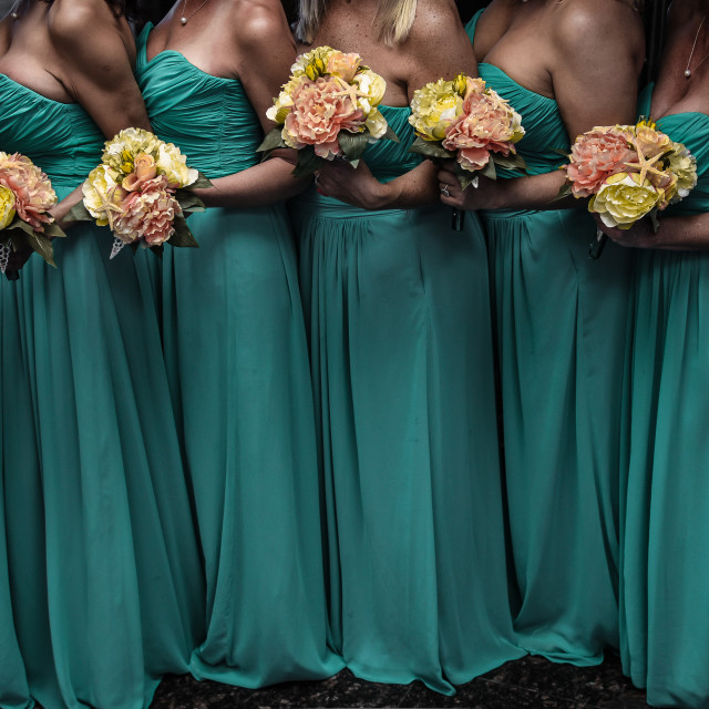 """Bridesmaids"" stock image"