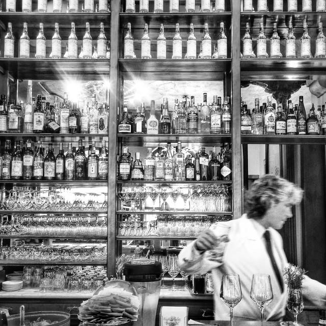 """Caffè Meletti, Ascoli"" stock image"