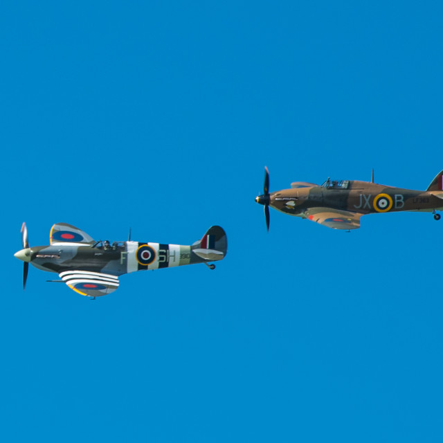 """Battle of Britain Remembered"" stock image"