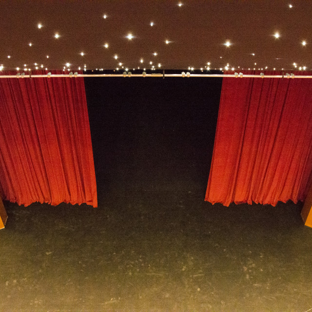 """""""Stage from beyond"""" stock image"""