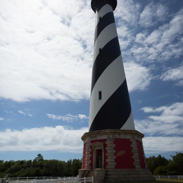 """Cape Hatteras Light House"" stock image"