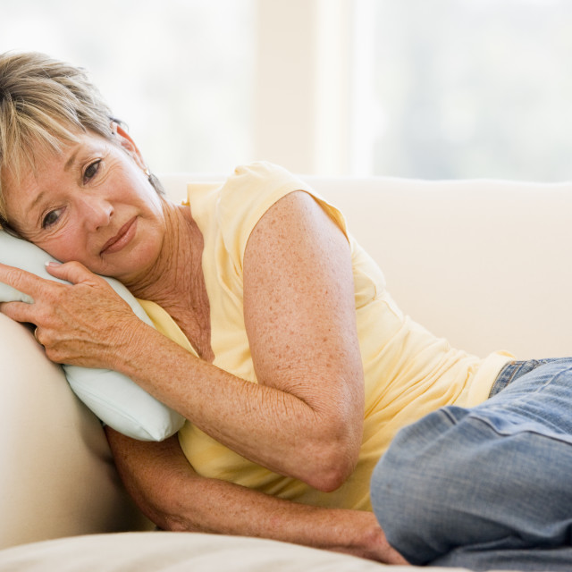 """Woman Feeling Unwell"" stock image"