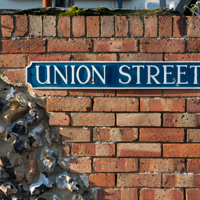 """Union Street"" stock image"