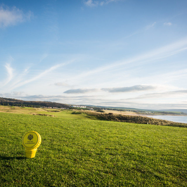 """Turnberry golf course"" stock image"