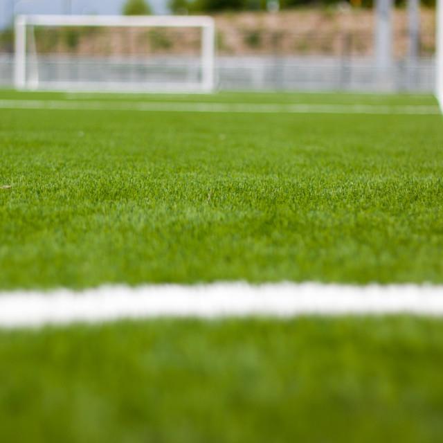 """""""soccer corner"""" stock image"""