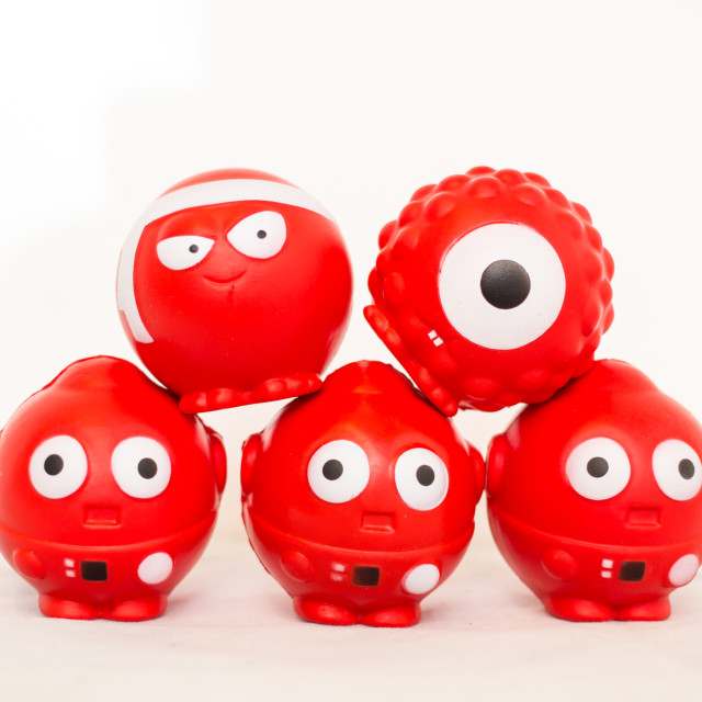 """""""Comic relief noses"""" stock image"""