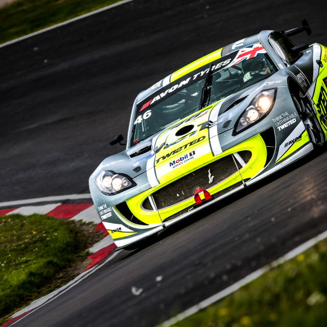 """Ginetta GT4"" stock image"