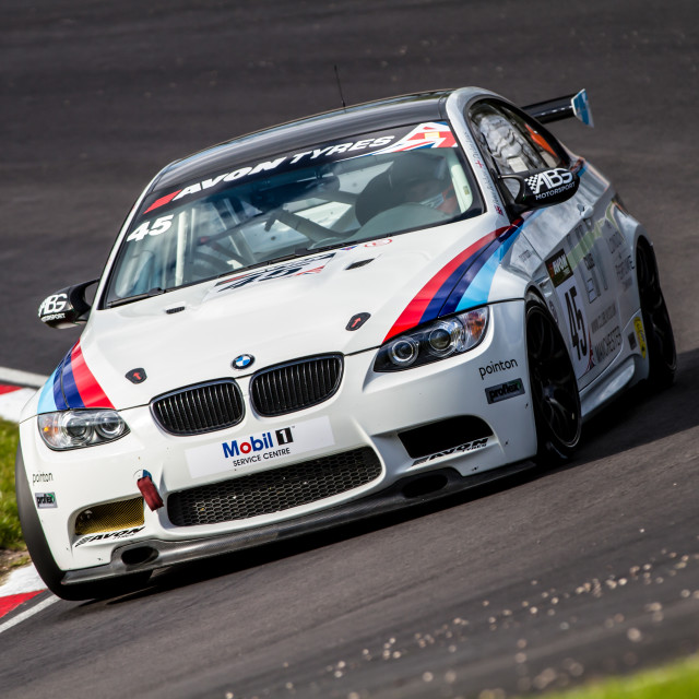 """BMW GT4"" stock image"