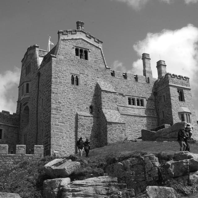 """""""St Michaels Mount Castle"""" stock image"""