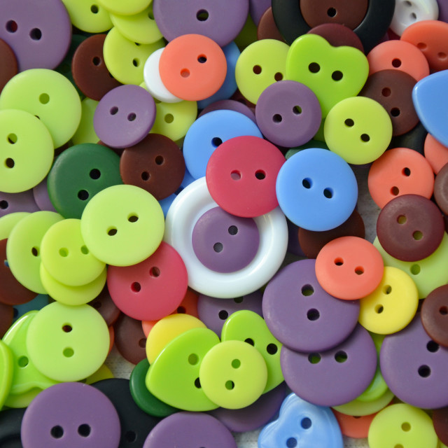 """Colorful buttons"" stock image"